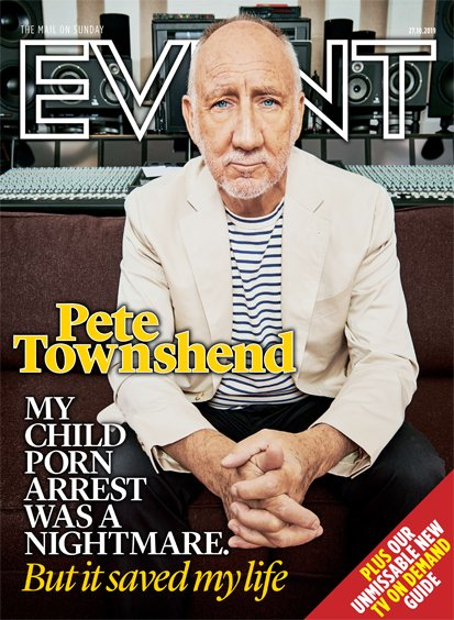 UK Event Magazine October 2019: Pete Townshend (The Who) interview Roger Daltrey