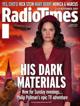 RADIO TIMES Magazine 2 November 2019: RUTH WILSON (His Dark Materials) Cover #1
