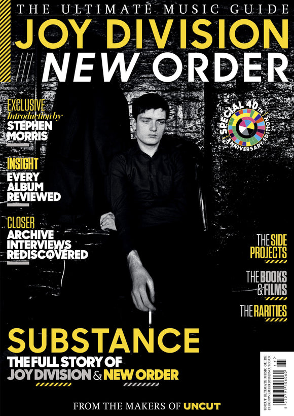 UK UNCUT Magazine November 2019: JOY DIVISION & NEW ORDER ULTIMATE MUSIC GUIDE EDITION