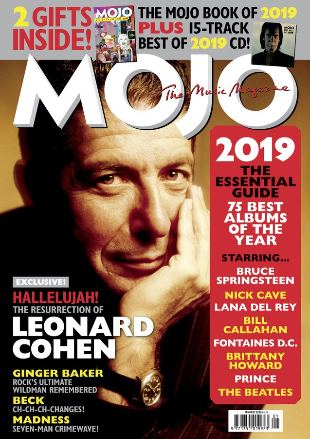 Uk Mojo Magazine January 2020 Leonard Cohen Cover Exclusive Lana Del Yourcelebritymagazines