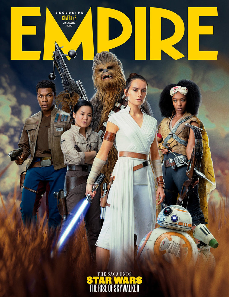 Empire Magazine January 2020: STAR WARS: RISE OF SKYWALKER - Cover #1 REY (Daisy Ridley)