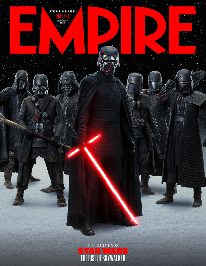 Empire January 2020: STAR WARS: RISE OF SKYWALKER - KYLO REN (Adam Driver) Cover #3