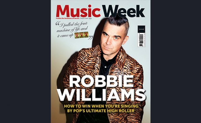 UK MUSIC WEEK Magazine November 2019: ROBBIE WILLIAMS - The Interview