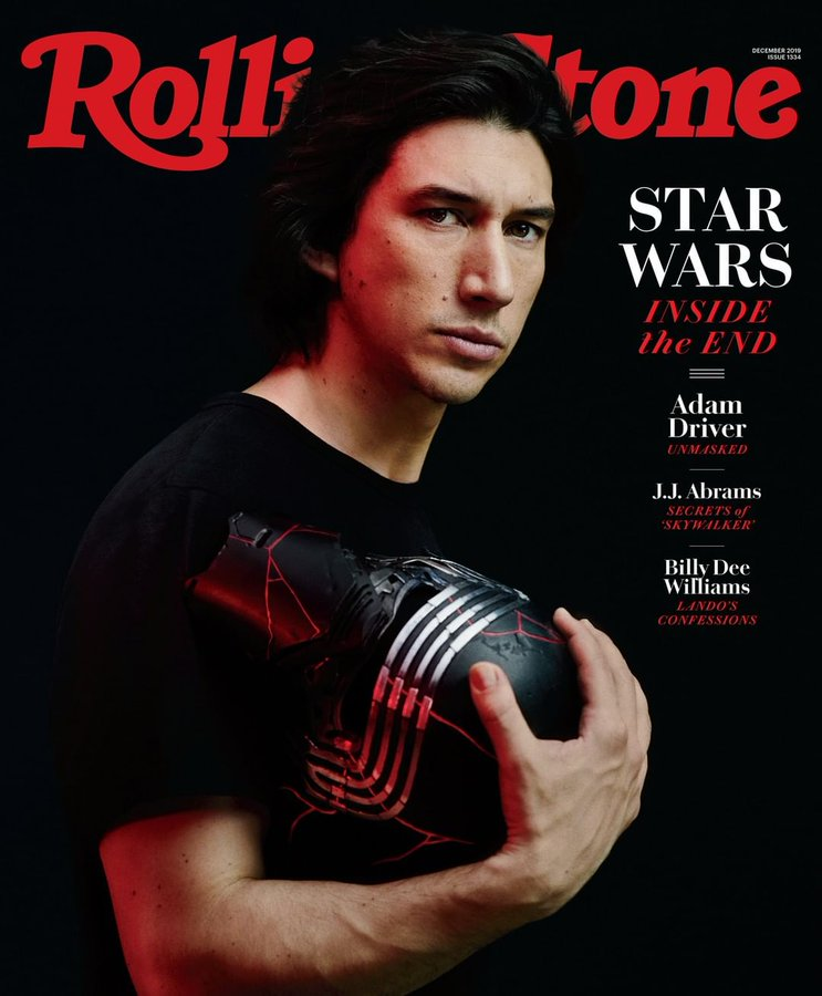 Rolling Stone Magazine - Star Wars - Adam Driver December 2019