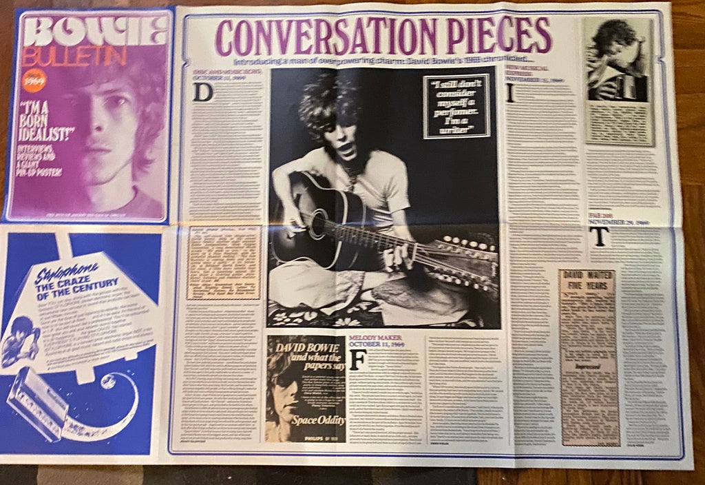 UK UNCUT Magazine January 2020: David Bowie by Tony Visconti + Giant Bowie Fanzine