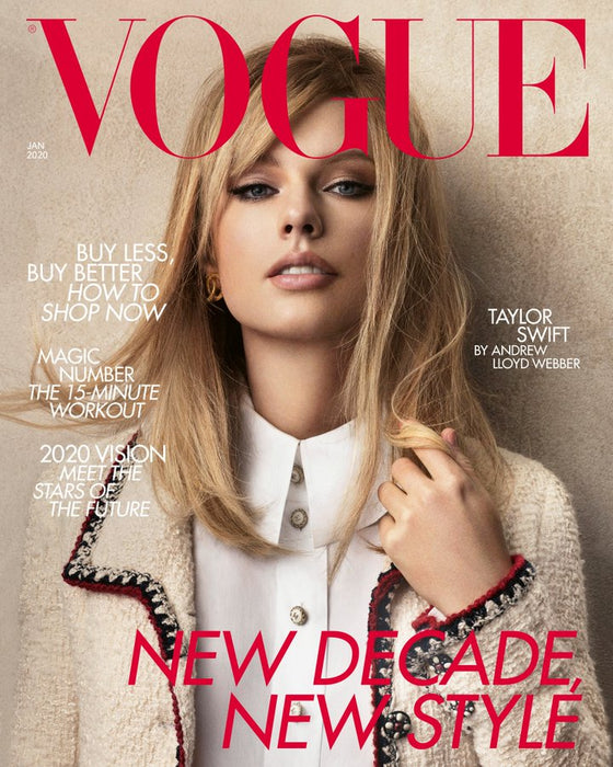 British Vogue Magazine January 2020: Taylor Swift Cover