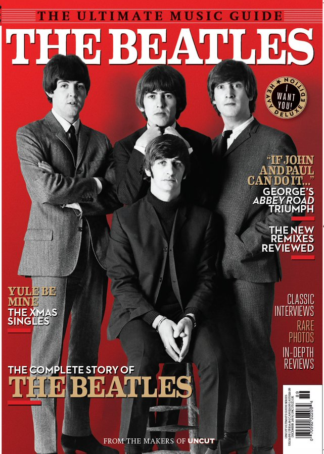 THE BEATLES - UNCUT ULTIMATE MUSIC GUIDE MAGAZINE (December 2019)