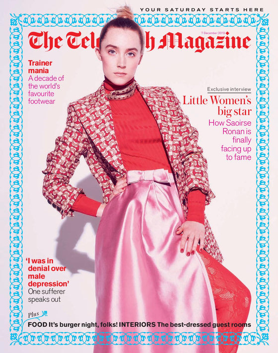 UK Telegraph Magazine December 2019: SAOIRSE RONAN COVER FEATURE Little Women