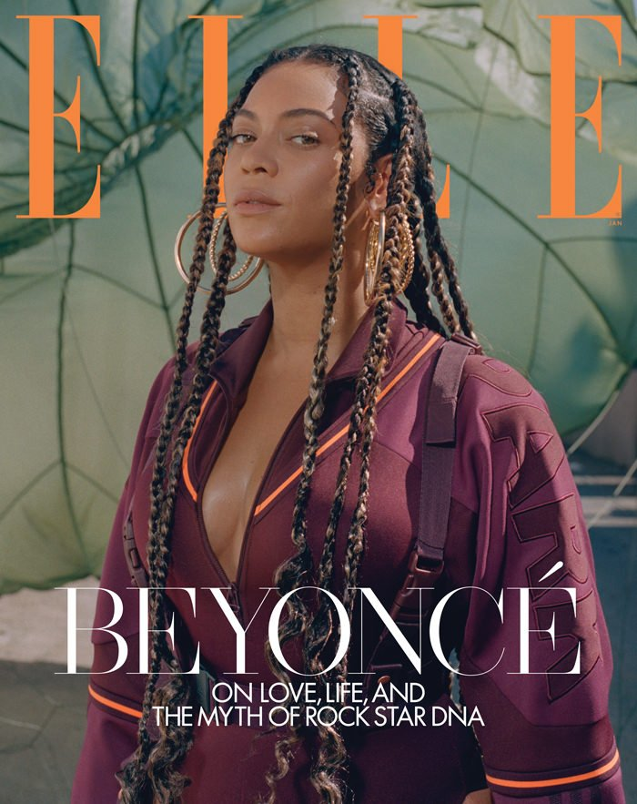 BEYONCE KNOWLES - ELLE MAGAZINE UK JANUARY 2020 BRITISH EDITION NEW