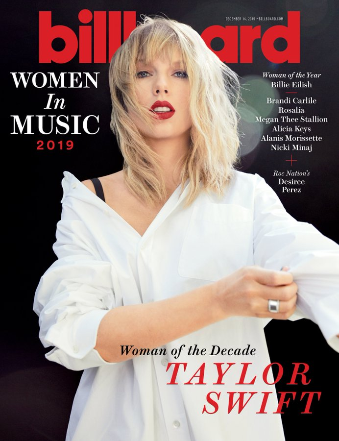 TAYLOR SWIFT - US BILLBOARD MAGAZINE - DECEMBER 14 2019 (PRE-ORDER)