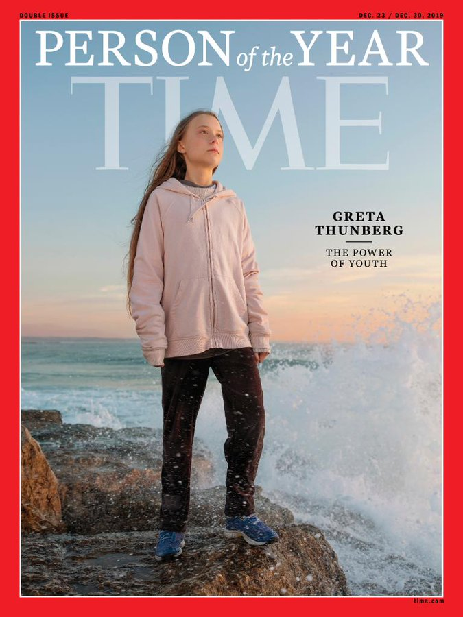 TIME MAGAZINE 23 DEC 2019 DOUBLE # GRETA THUNBERG =PERSON OF THE YEAR=