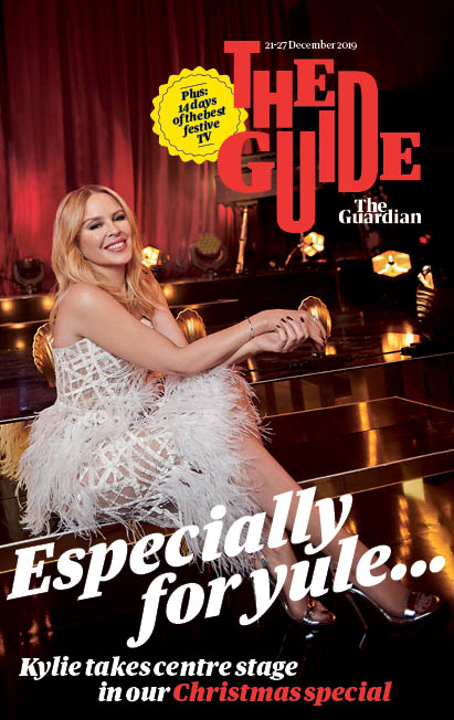 UK Guide Magazine December 2019: Kylie Minogue Cover