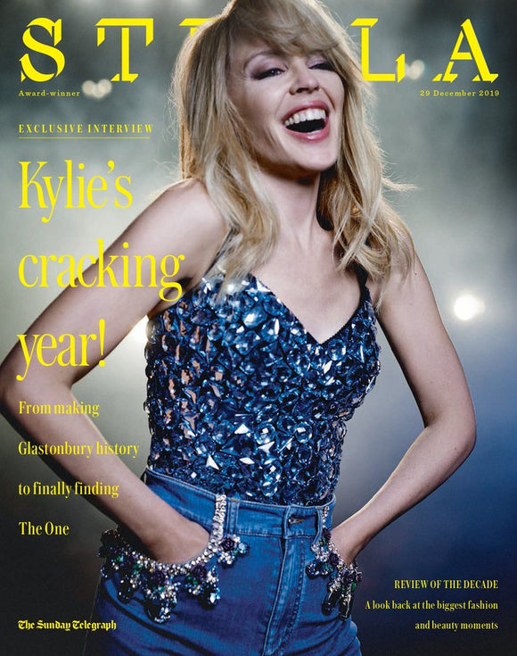 UK Kylie Minogue Stella Magazine 29 December 19 New