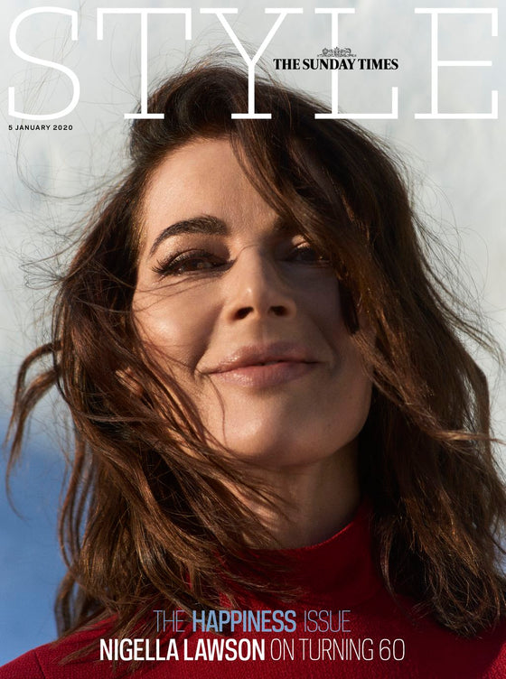 NIGELLA LAWSON UK COVER UK STYLE Magazine January 2020 NEW