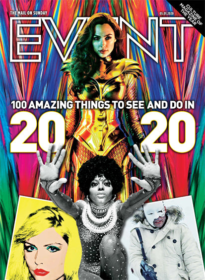 UK Event Magazine January 2020: GAL GADOT WONDER WOMAN DIANA ROSS Madonna