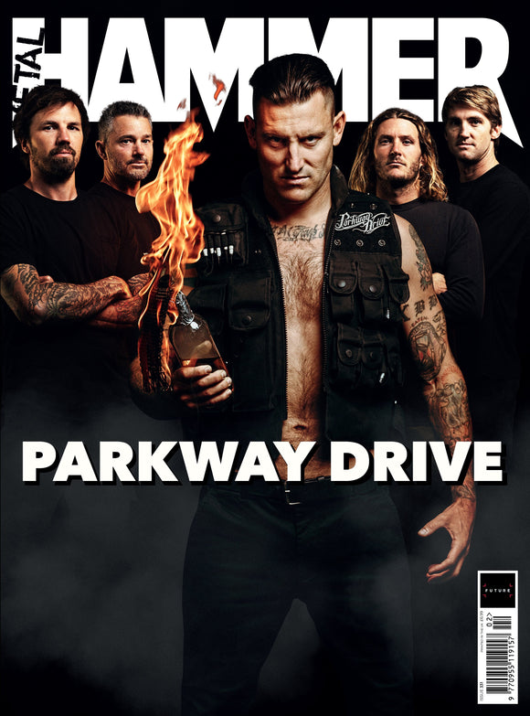 UK Metal Hammer Magazine Feb 2020: PARKWAY DRIVE COVER FEATURE + FREE GIFTS