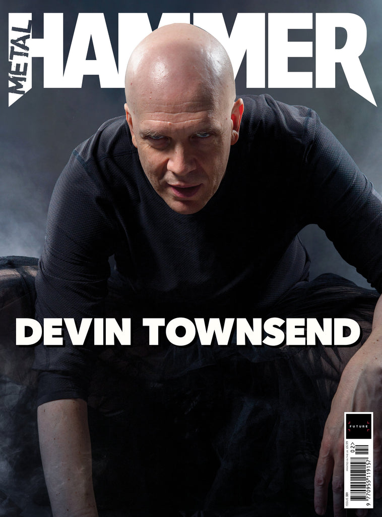 UK Metal Hammer Magazine Feb 2020: DEVIN TOWNSEND COVER FEATURE + FREE GIFTS