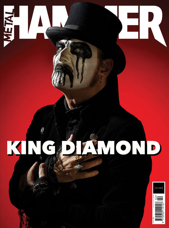 UK Metal Hammer Magazine Feb 2020:  KING DIAMOND COVER FEATURE + FREE GIFTS