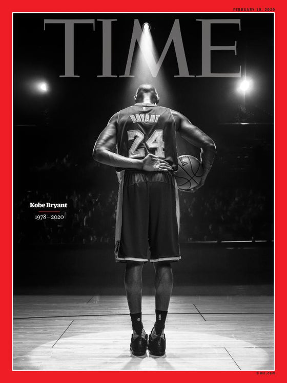 KOBE BRYANT 1978-2020 - MAMBA - TIME MAGAZINE - FEBRUARY 2020 - NEW -