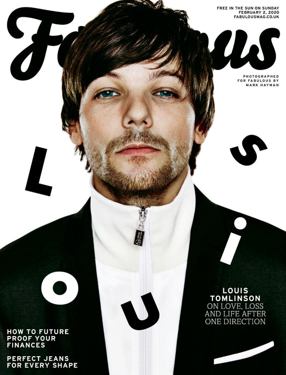 UK Fabulous Magazine February 2020: Louis Tomlinson One Direction