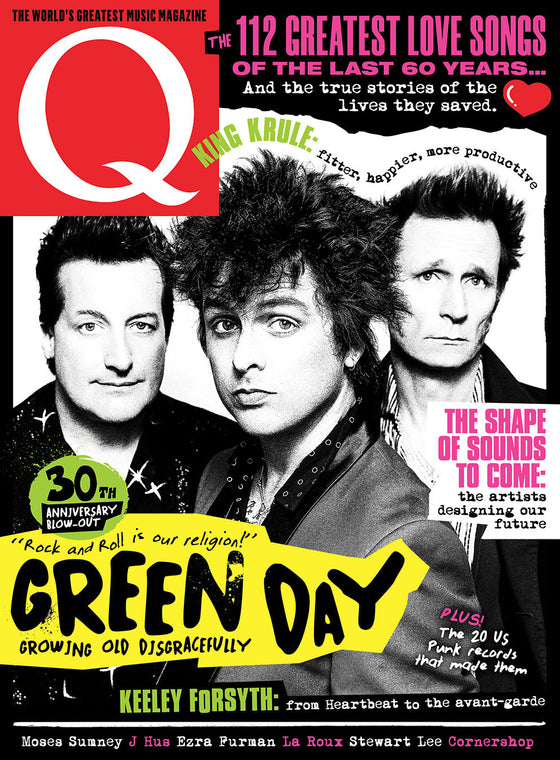 Q magazine March 2020: Green Day Cover + Exclusive on Father Of All