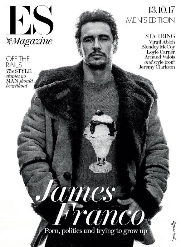 James Franco on the cover of ES Magazine
