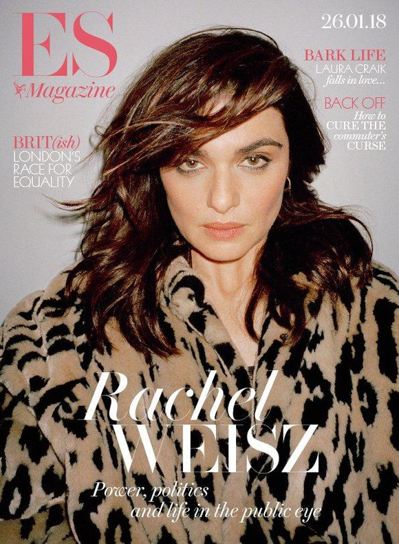 London ES Magazine January 2018 Rachel Weisz COVER INTERVIEW Daniel Craig