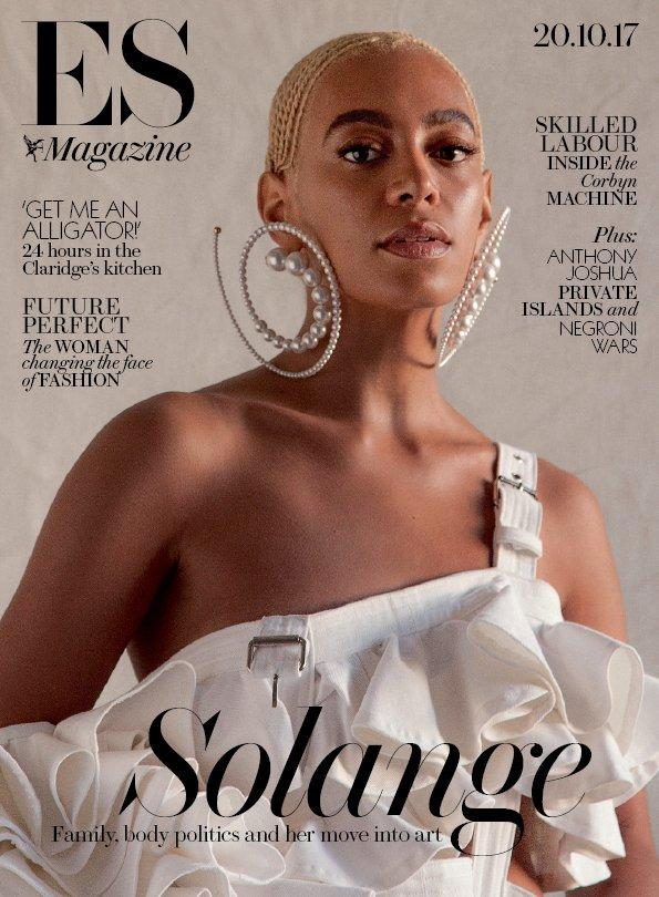 London ES Magazine 20 October 2017 Solange Jeremy Corbyn