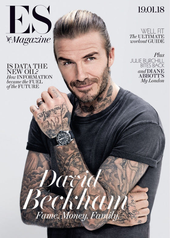 London ES Magazine January 2018 David Beckham COVER INTERVIEW