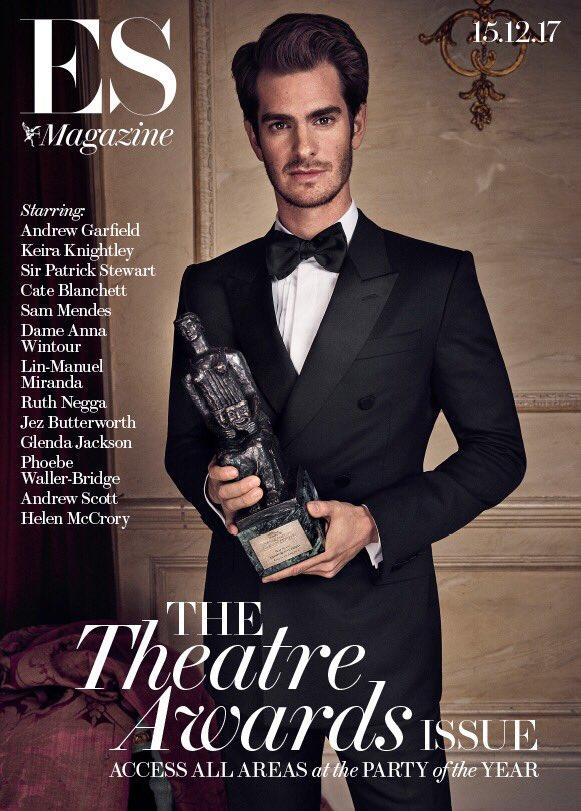 Andrew Garfield Andrew Scott Cate Blanchett ES London Theatre Magazine December 2017