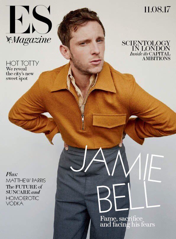 UK London ES magazine 11th August 2017 Jamie Bell Cover Interview