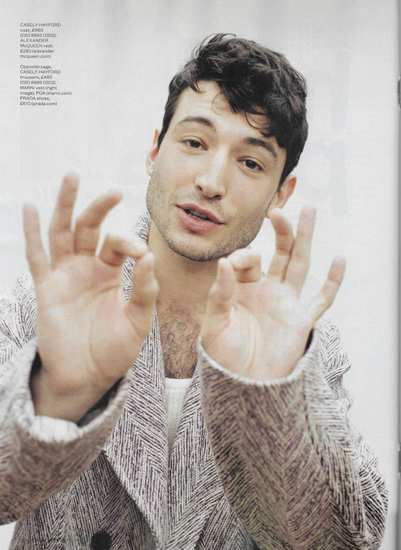 London ES Magazine 9th November 2018: Ezra Miller Cover Interview