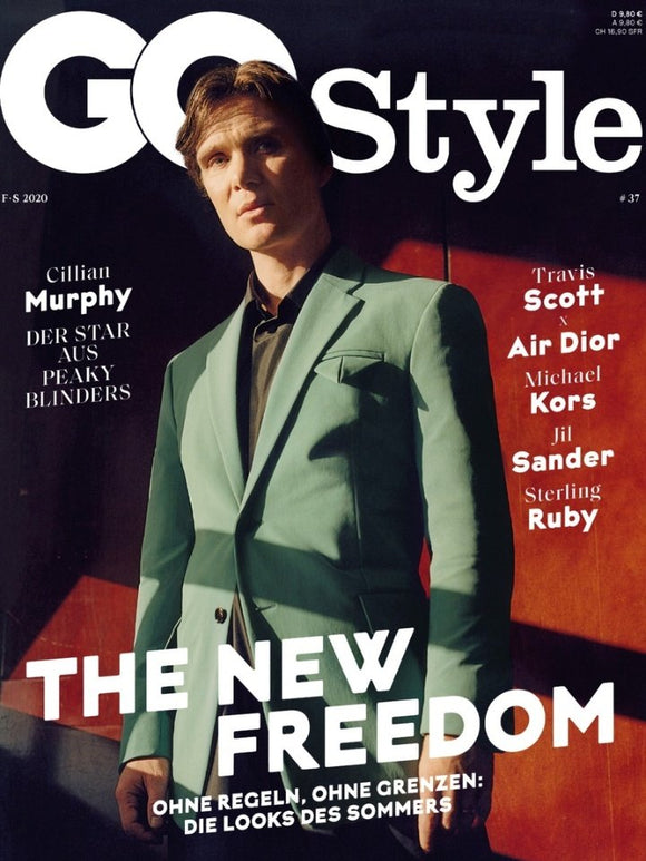 GQ Style Germany Magazine #37 Cillian Murphy Cover