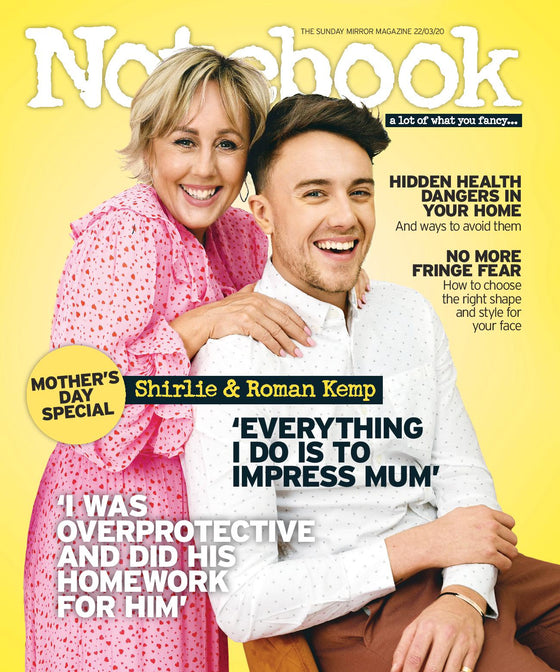 NOTEBOOK Magazine March 2020: SHIRLIE & ROMAN KEMP COVER FEATURE Martin Kemp