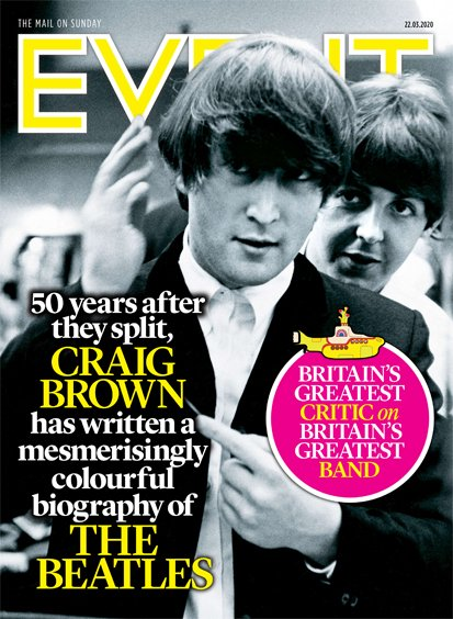 UK Event Magazine 22 March 2020: The Beatles Paul McCartney John Lennon