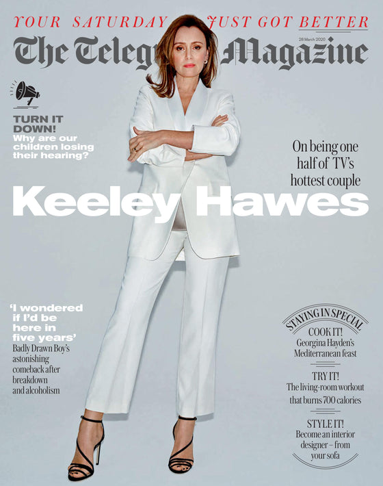 UK Telegraph Magazine 28 March 2020: Keeley Hawes Cover (Matthew MacFadyen)