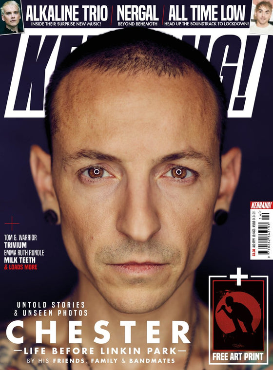 UK Kerrang! Magazine April 2020: Chester Bennington (Linkin Park) & Art Print