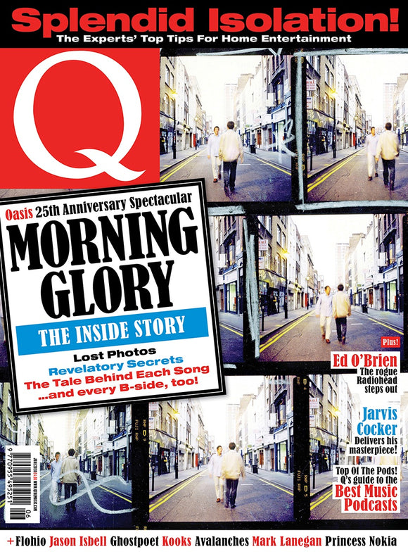 Q Magazine June 2020: OASIS 25th Anniversary - The Inside Story (Liam Gallagher)