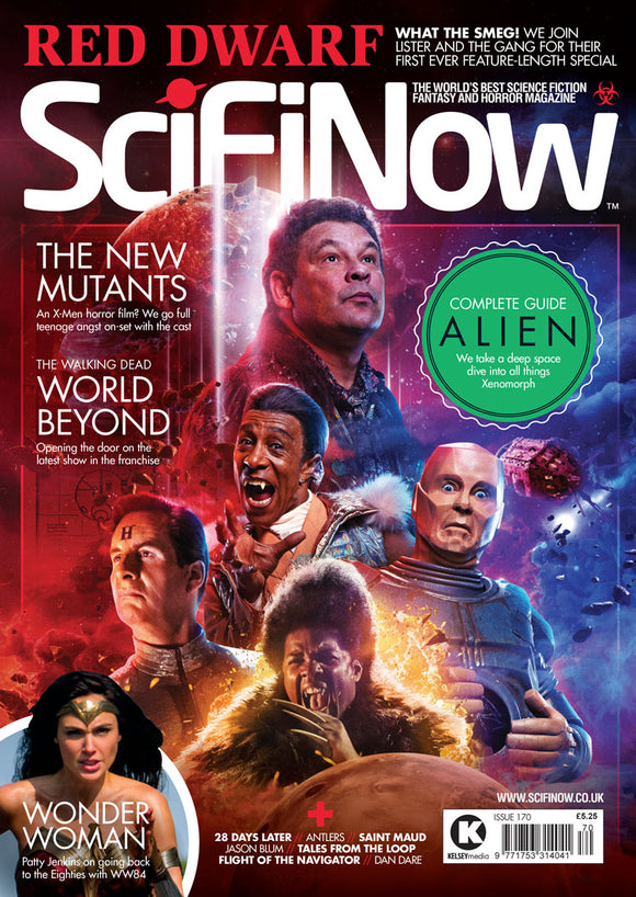 UK Sci Fi Now Magazine #170 Red Dwarf Cover Issue