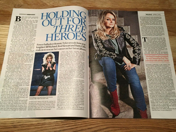 UK Event Magazine March 2019: BONNIE TYLER Michael Ball BRIE LARSON