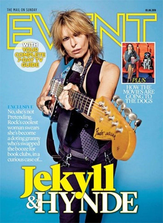 UK EVENT Magazine 08/2018: CHRISSIE HYNDE The Pretenders JIMMY PAGE Led Zeppelin