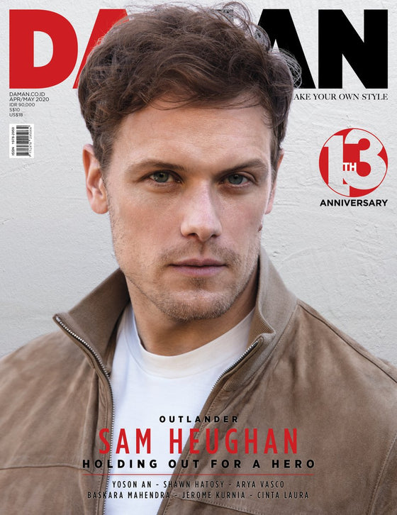 DA MAN Magazine April/May 2020: Sam Heughan