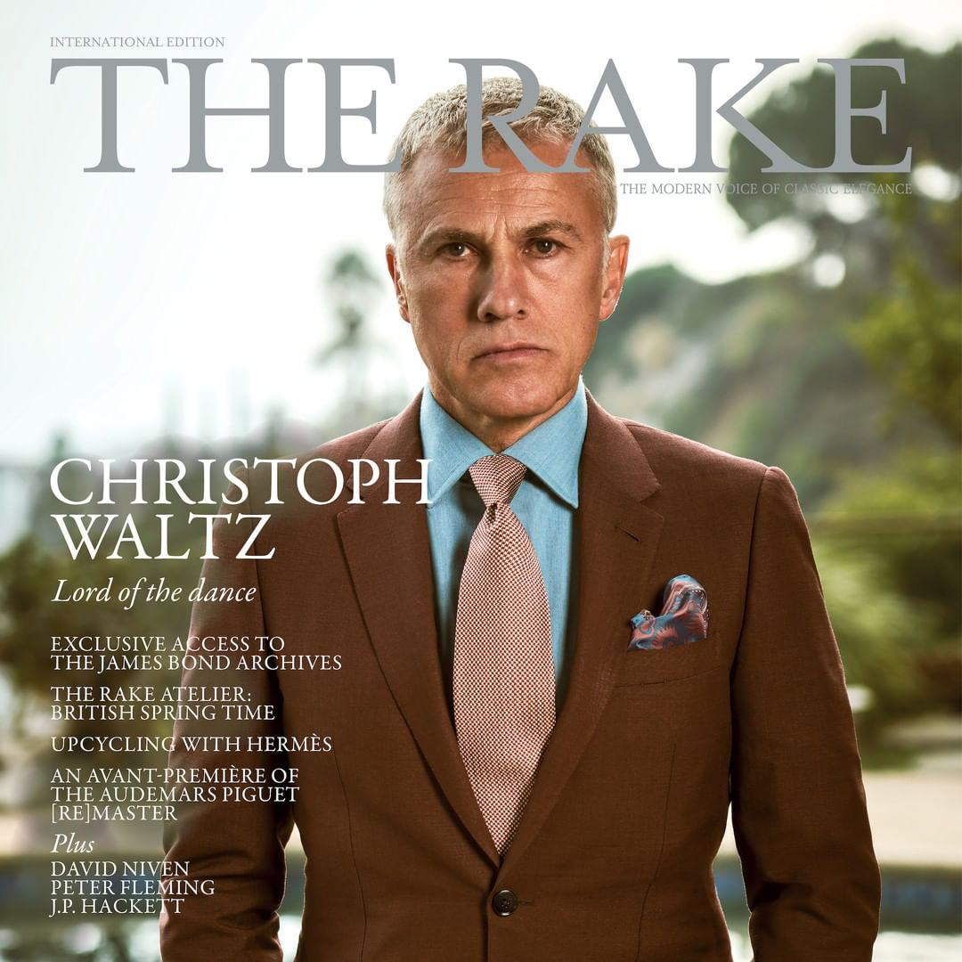 The Rake Magazine Issue 69: Christoph Waltz Cover