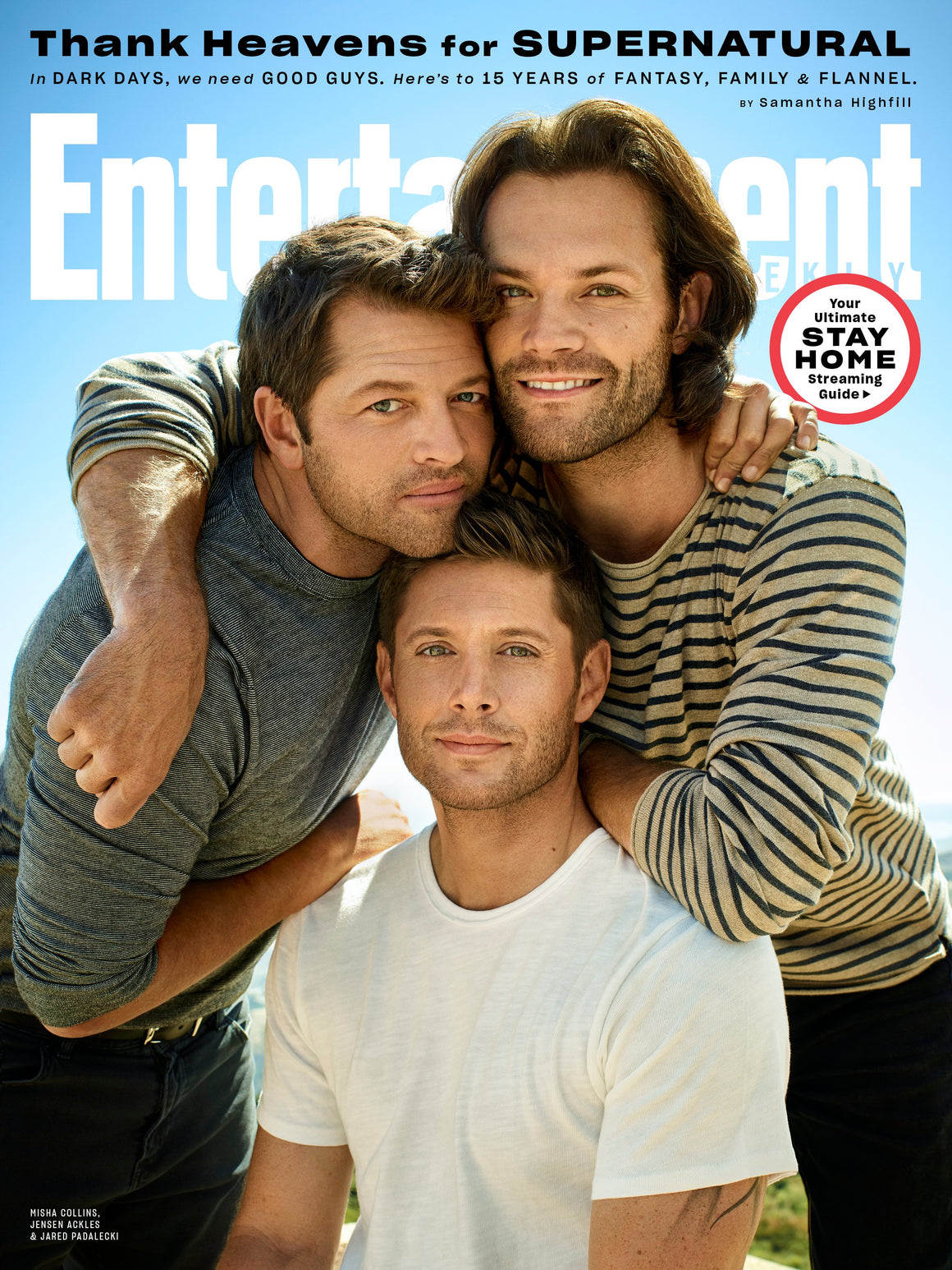 ENTERTAINMENT WEEKLY MAGAZINE - MAY 2020 - SUPERNATURAL JENSEN ACKLES