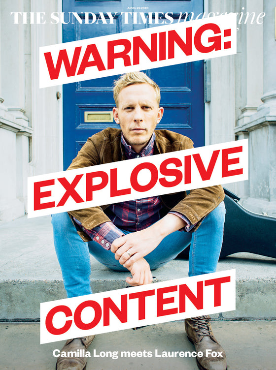 UK Sunday Times Magazine April 2020: Laurence Fox Exclusive