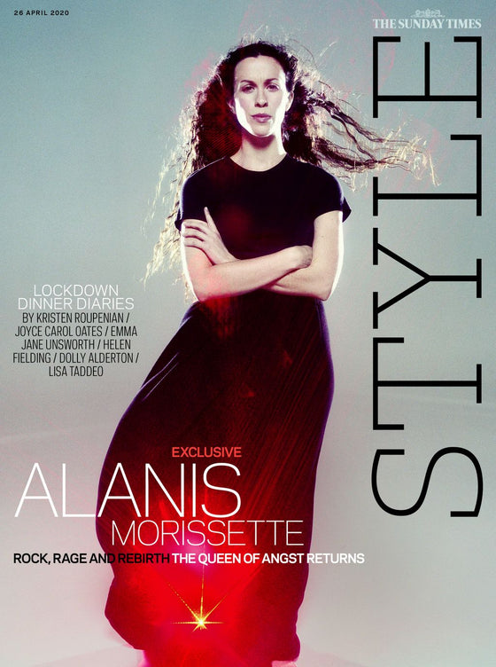 UK STYLE Magazine April 2020: ALANIS MORISSETTE COVER FEATURE