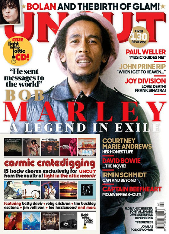 UK Uncut Magazine July 2020: BOB MARLEY Paul Weller Joy Division David Bowie