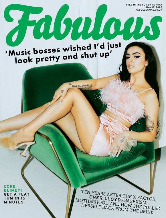 UK Fabulous Magazine May 2020: CHER LLOYD COVER FEATURE