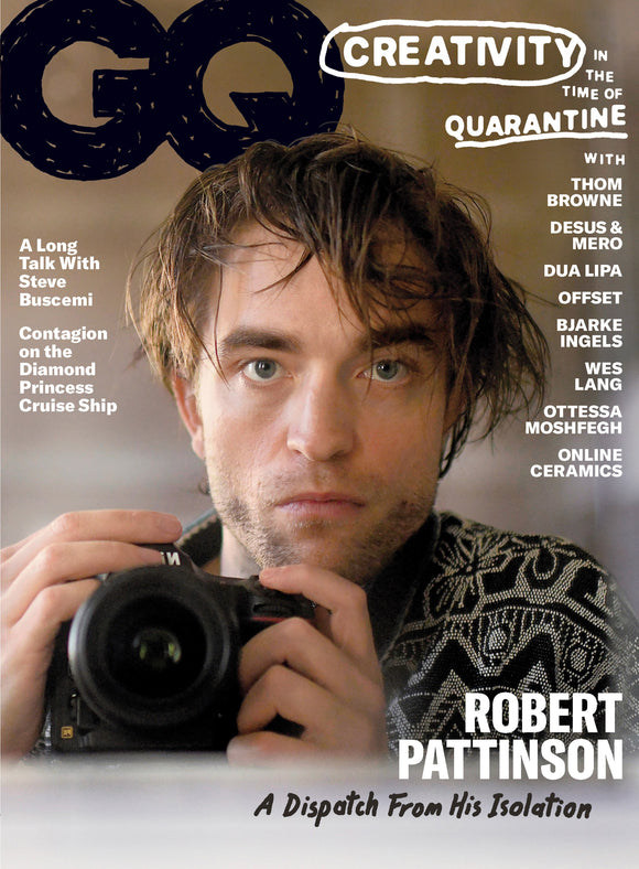 GQ US Magazine June/July 2020: Robert Pattinson