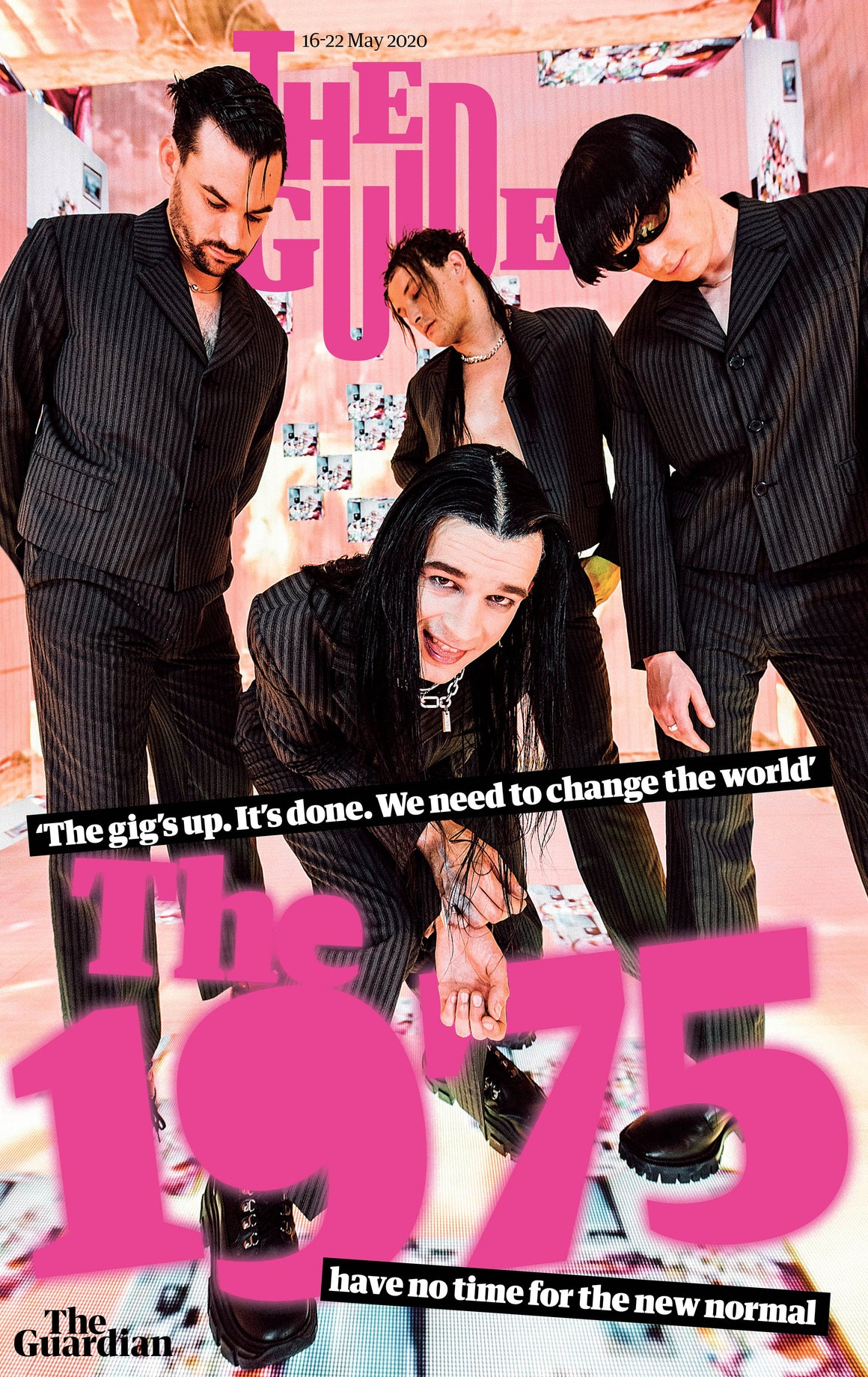 GUARDIAN GUIDE MAGAZINE - 16th May 2020: Matty Healy - The 1975